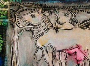 Detail Image for art cattle [SOLD]