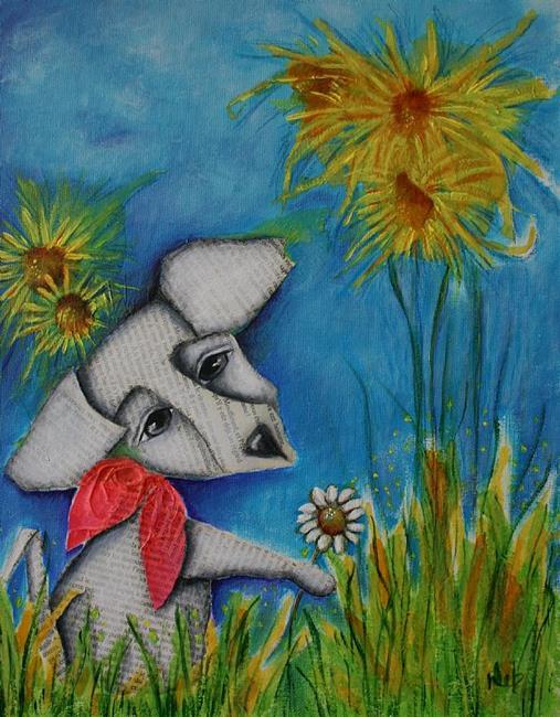 Art: Spring Time by Artist Deb Harvey