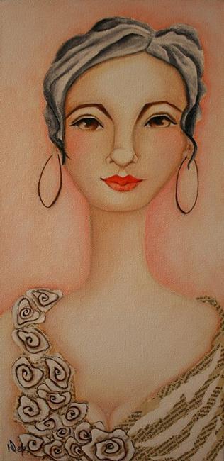 Art: Olivia by Artist Deb Harvey