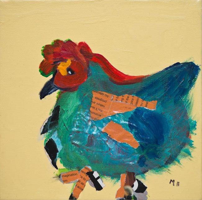 Art: Chicken Series 05 by Artist Gabriele Maurus