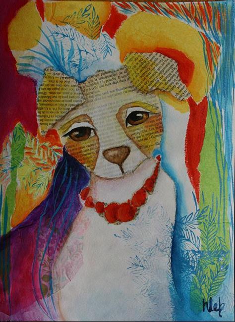 Art: Princess by Artist Deb Harvey