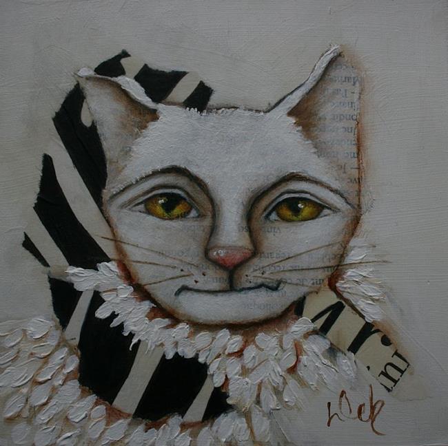 Art: Monsieur by Artist Deb Harvey