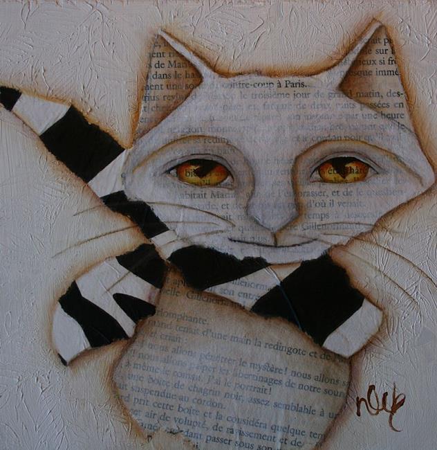 Art: Paris by Artist Deb Harvey