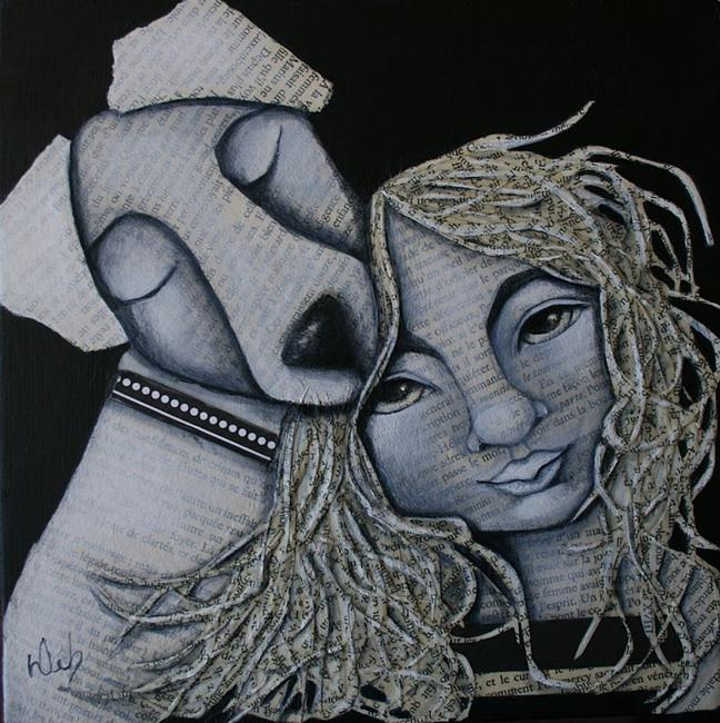 Art: Protector by Artist Deb Harvey