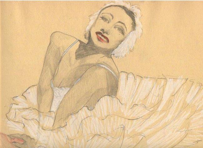 Art: Swan by Artist Noelle Hunt