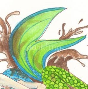Detail Image for art Mermaid Mud Wrestling
