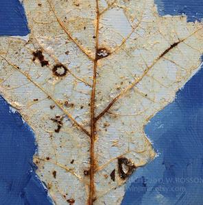 Detail Image for art Blue Leaf