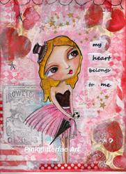 Art: my Valentine by Artist Betty Stoumbos