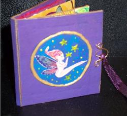 Art: Miniature Faery Picture Book by Artist Emily J White