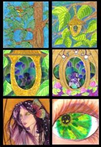 Detail Image for art Miniature Faery Picture Book