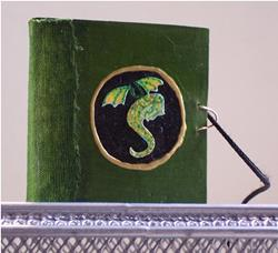 Art: Miniature Dragon Picture Story Book by Artist Emily J White