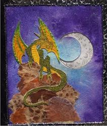 Art: Dragon Blank Journal by Artist Emily J White
