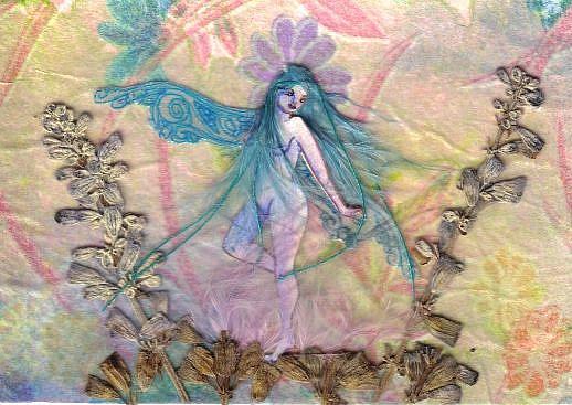 Art: Lavender Lady by Artist Emily J White