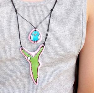 Detail Image for art Lunchtime Necklace