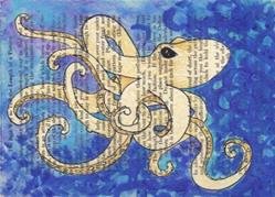 Art: Octopus 1 by Artist Emily J White