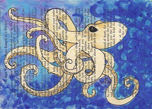 Art: Octopus 1 by Artist Emily J White