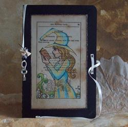 Art: Book of Shadows 1 blank journal by Artist Emily J White