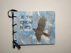 Art: As the Crow Flies Mixed Media Picture Book by Artist Emily J White