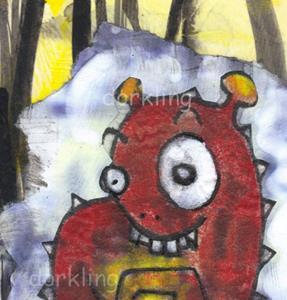 Detail Image for art Fenton - a monster