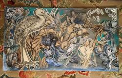 Art: The Stork Garden, Paper Cut by Artist Chris Jeanguenat