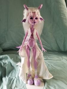 Detail Image for art Billie- Monster High Doll Repaint