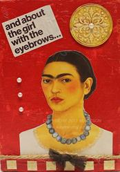 Art: The girl with the eyebrows by Artist Windi Rosson
