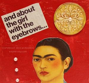 Detail Image for art The girl with the eyebrows