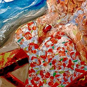 Detail Image for art My Day at the Beach