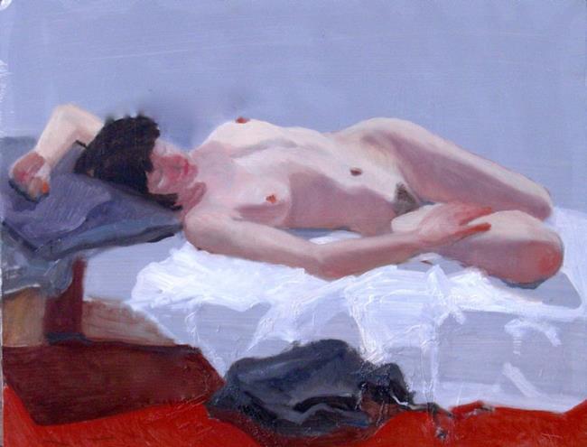 Art: Sweet Nap by Artist Debra Schott