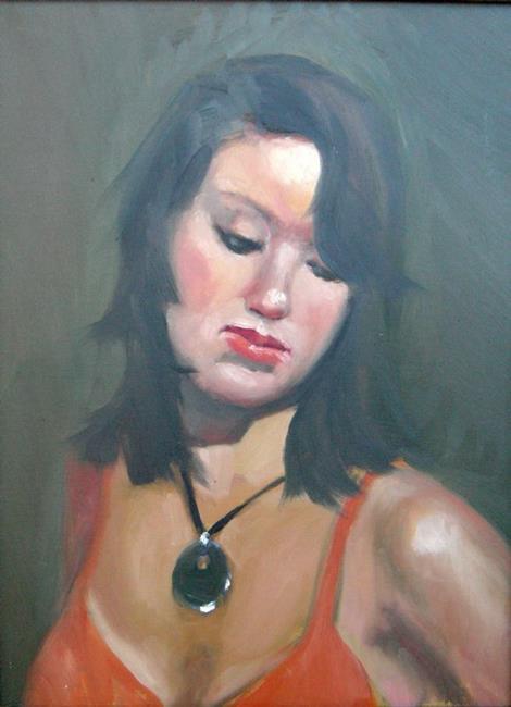 Art: Linda B by Artist Debra Schott