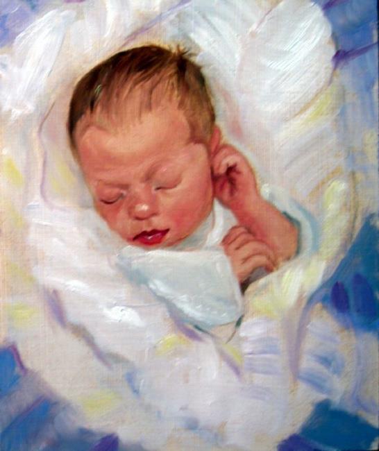 Art: Infant by Artist Debra Schott