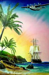 Art: SouthPacific by Artist Roy S. Alba