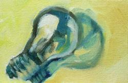Art: Little Bulb by Artist C. k. Agathocleous
