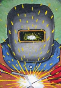 Detail Image for art The Welder