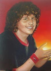 Art: Portrait of Stephen by Artist Lauren Cole Abrams