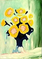 Art: Sunflowers by Artist Shane Darren Ervin