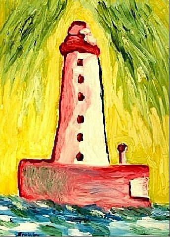 Art: Sea Lighthouse by Artist Shane Darren Ervin