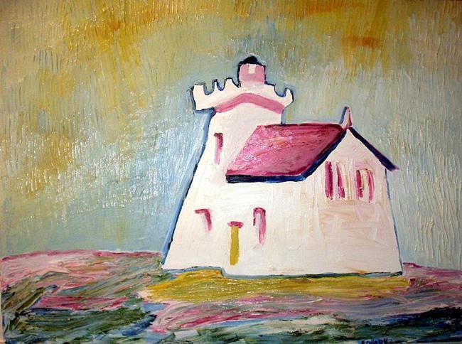 Art: Canadian Lighthouse by Artist Shane Darren Ervin