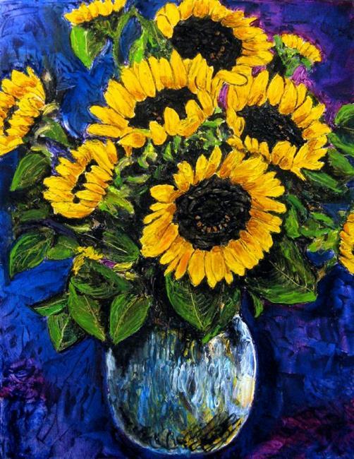 Art: Sunflowers by Artist Lisa Thornton Whittaker