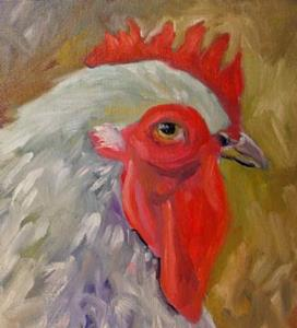 Detail Image for art A Handsome Rooster