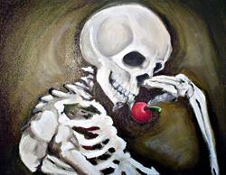 Art: Día de los Muertos by Artist Noelle Hunt