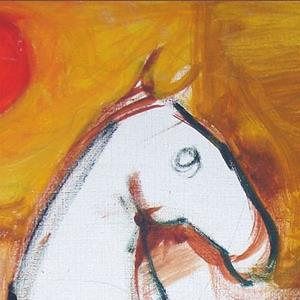 Detail Image for art (Unfinished) Horse and rider