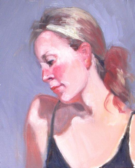 Art: Lisa ii by Artist Debra Schott