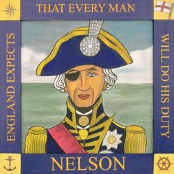 Art: Lord Nelson by Artist Paul Helm