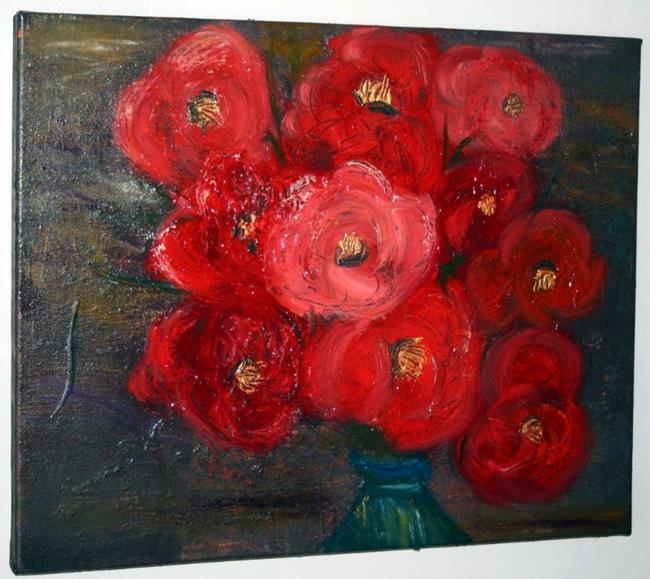 Art: BEAUTIFUL ROSES-sold by Artist LUIZA VIZOLI