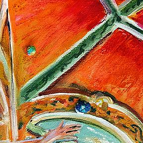 Detail Image for art Head High, Mouth shut: Above it all