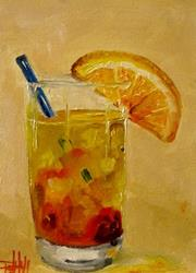 Art: Tequila Sunrise-SOLD by Artist Delilah Smith