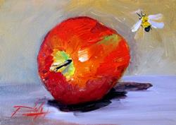 Art: An Apple a Day No.2 by Artist Delilah Smith
