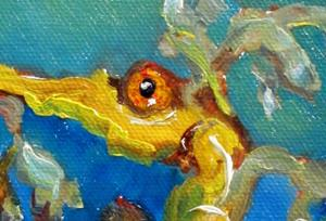 Detail Image for art Yellow Sea Horse