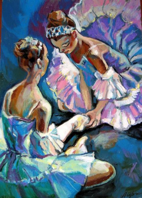Art: Ballet Dancers by Artist Luda Angel